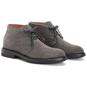 *MADE IN ITALY* AQUATALIA Suede Grey Chukka Boot